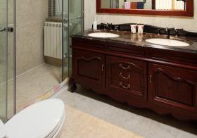 美式浴室柜美图欣赏