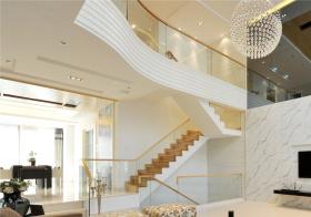 大气现代风格楼梯装修设计
