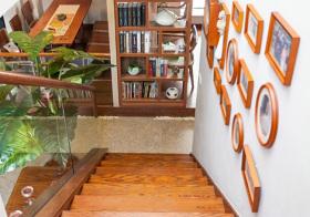 宜居美式风格楼梯装修设计