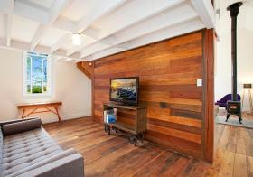 现代简约木质隔断设计美图