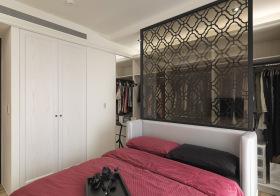 简约风卧室隔断设计
