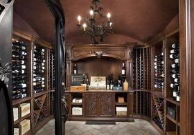 美式贵族酒柜设计美图