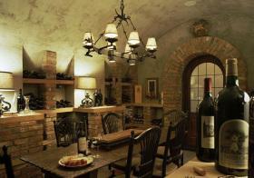 欧式复古酒柜设计美图