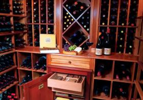 现代实用型酒柜设计