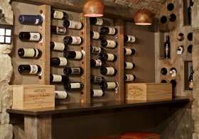 现代木质酒柜设计美图