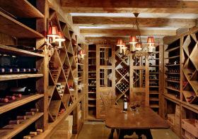 复古木质酒柜设计美图