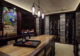 现代高端酒柜设计美图