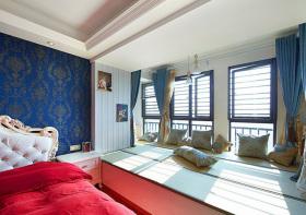 卧室清爽榻榻米设计美图