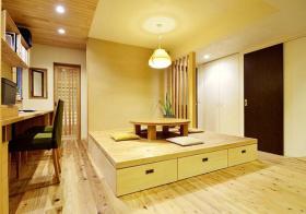 木质清爽榻榻米设计美图