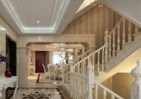 奢华欧式风格楼梯装修设计