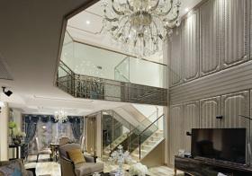 奢华现代风格楼梯装修设计