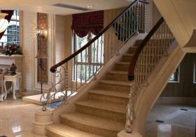 大气欧式风格楼梯装修设计