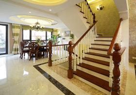 经典欧式风格楼梯装修效果图