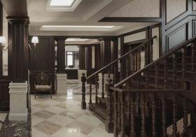 复古欧式风格楼梯装修设计