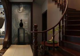 古典中式风格楼梯装修设计