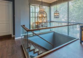 韵味新中式风格楼梯装修设计