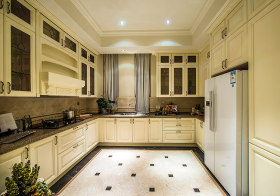 典雅田园厨房装修设计