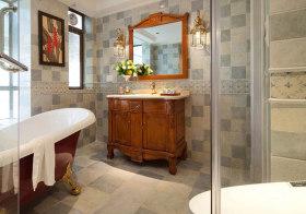 典雅美式卫生间装修设计
