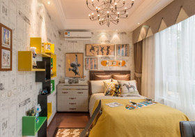 时尚现代卧室装修设计