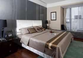 大气现代卧室装修设计