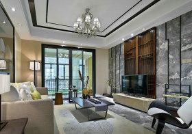大理石简约客厅设计效果