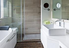 大理石现代卫生间美图欣赏