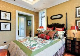 乡村美式卧室设计美图
