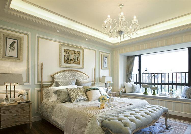 浪漫欧式卧室装修实拍