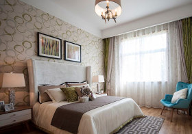 温馨简约卧室设计效果