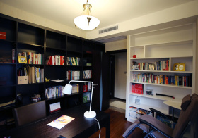 强收纳简约书房设计
