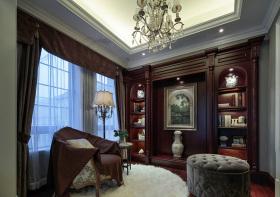 奢华美式书房装修