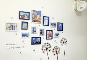 文艺简约风照片墙设计