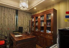 美式书房收纳设计