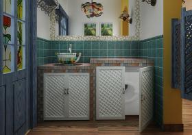 童趣田园浴室柜设计