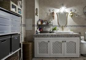简欧浴室柜装修