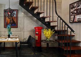 现代美式风格楼梯装修设计