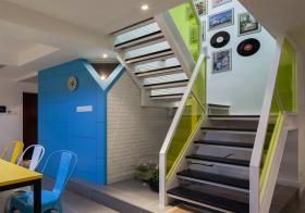 活力简约风格楼梯装修设计