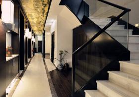 新中式风格楼梯装修效果