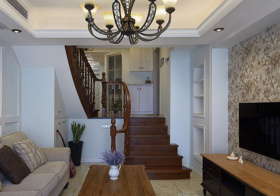 精致欧式风格楼梯装修设计