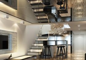 质感现代风格楼梯装修设计