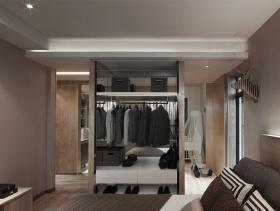 干练大气现代风格衣柜装修设计
