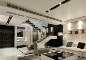 大气现代风格楼梯装修效果图