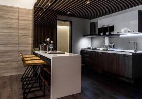 高端现代风格吧台装修设计
