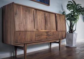 美式实木收纳设计
