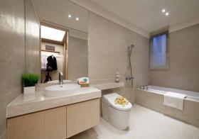 简约浴室柜欣赏