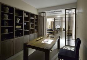 中式书房装修设计图