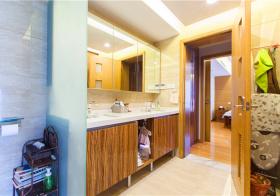 中式浴室柜美图