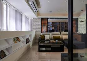 现代风窗台收纳设计
