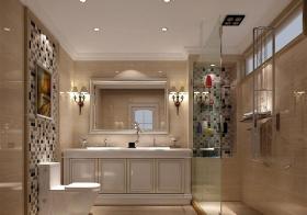 简欧浴室柜美图