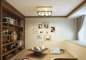 休闲中式书房装修